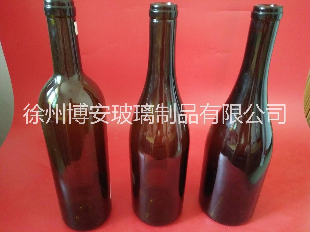 厂家直销红酒瓶木塞瓶香槟酒瓶 厂家直销红酒瓶香槟酒瓶玻璃酒瓶精白料