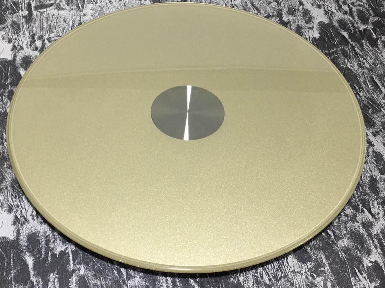 翔美惠玻璃制品公司餐桌玻璃转盘