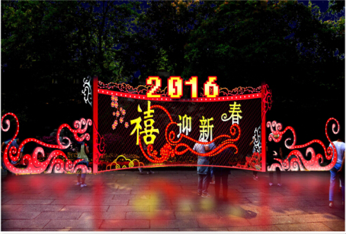 春节花灯-装饰性花灯