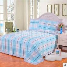 2017夏季凉席三件套 床上套件 老粗布床单纯棉枕套厂家直销 老粗布床单凉席