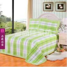 2017夏季纯棉凉席三件套 床上用品套件老粗布床单夏凉席厂家直销