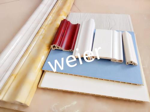 木塑墙板生产线_快装墙板设备_专业PVC设备供应商 威尔塑机