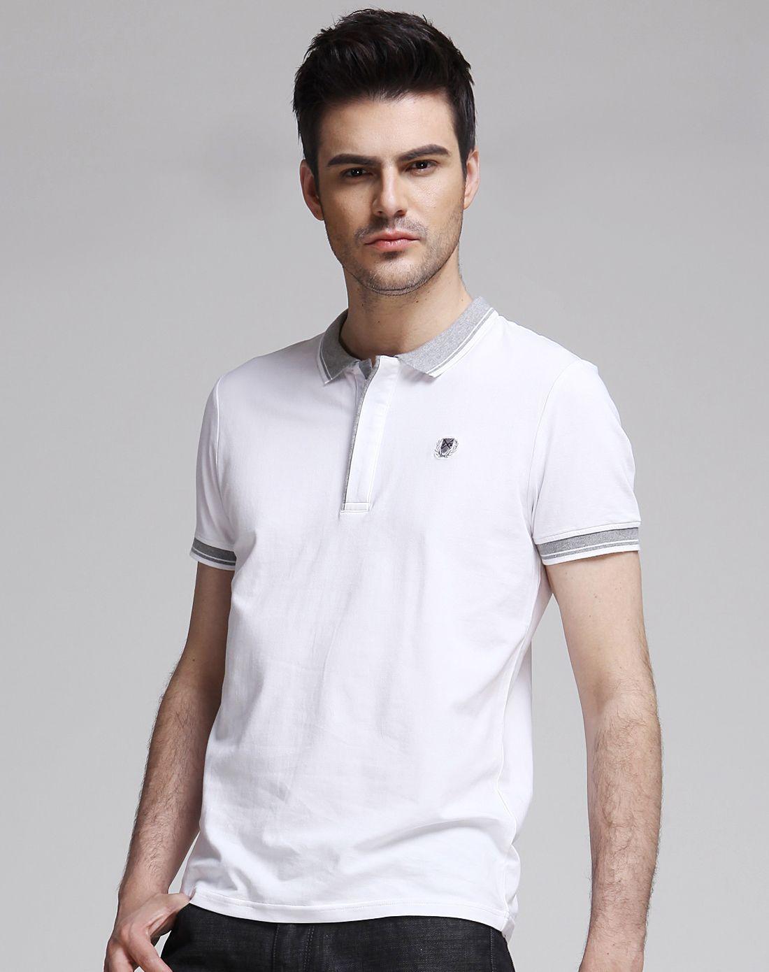 夏季男士T恤休闲衬衫