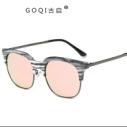 新款批发太阳眼镜男 时尚内方框墨图片