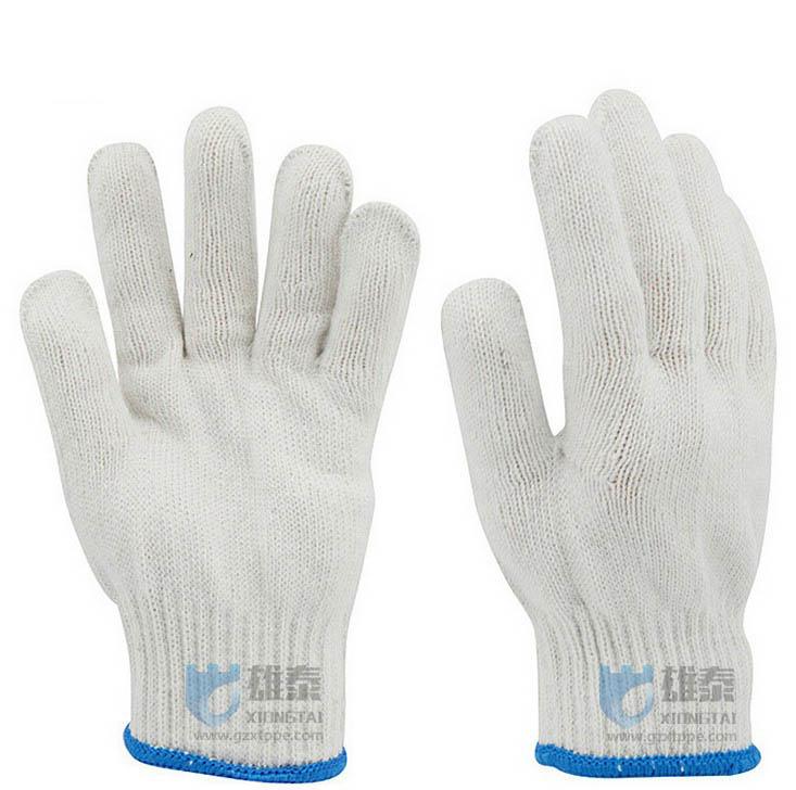 棉纱手套防护手套劳保用品