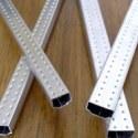 高频焊铝隔条 可折弯铝条图片