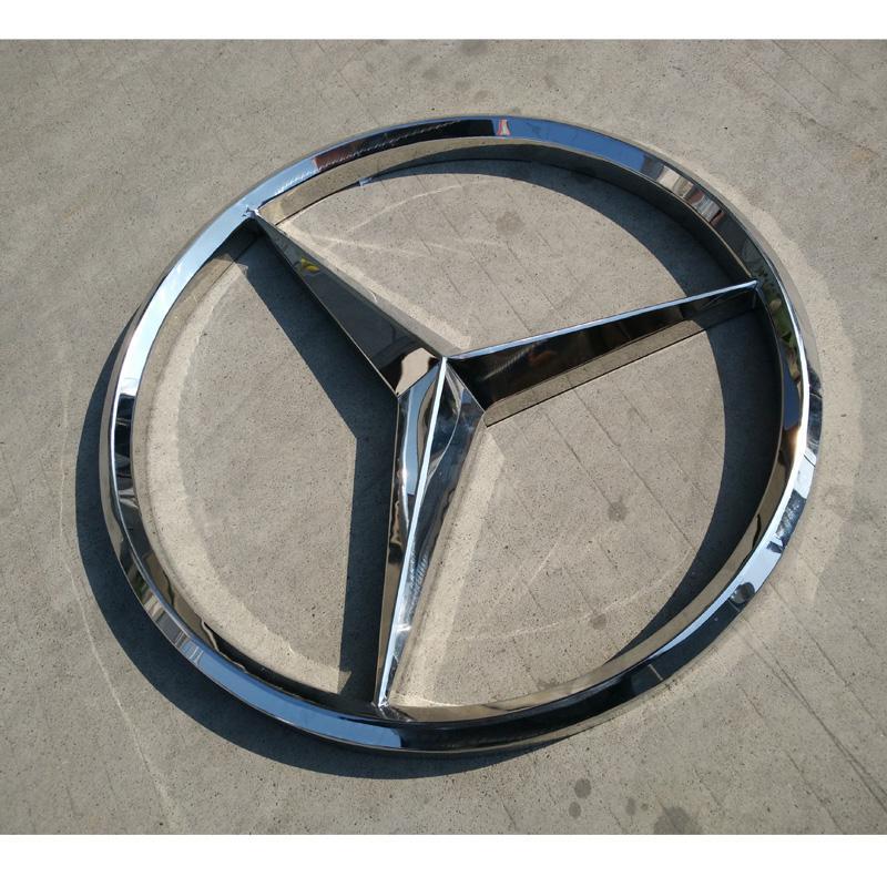 大型丰田标识立牌 吸塑丰田汽车标志厂家加工 汽车标识 汽车三维标识