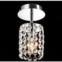 一件代发现代LED水晶过道灯时尚阳台玄关吸顶灯