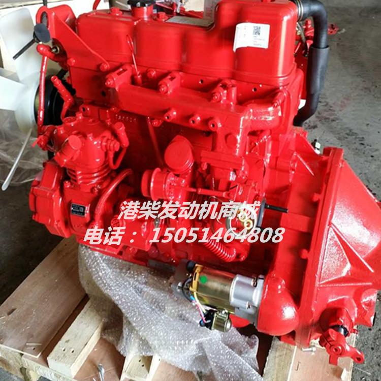 朝柴CY4102-C3C发动机  4102中冷增压发动机