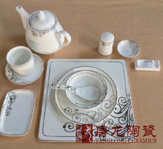 定做酒店餐具厂家 酒店陶瓷餐具 定做酒店陶瓷餐具