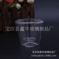 玻璃茶具厂家定制纯手工操作创意茶具,欧式制作玻璃茶具