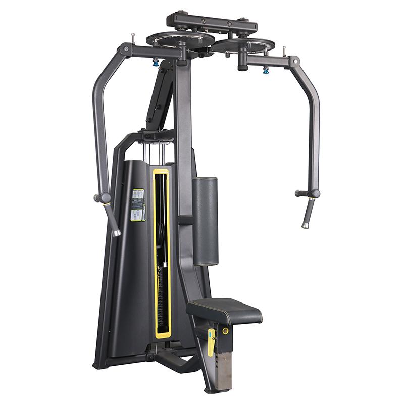 运动器械健身 反飞鸟训练器 直臂夹胸综合训练器健身房商用器械