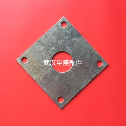 护栏铝装饰底盖固定件—铝合金底板