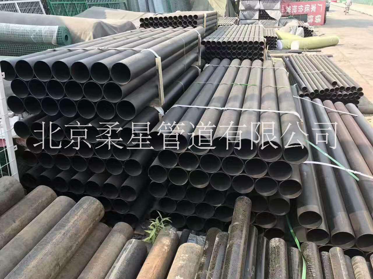 供应A型柔性接口和W型无承口管箍式铸铁排水管及管件生产厂家
