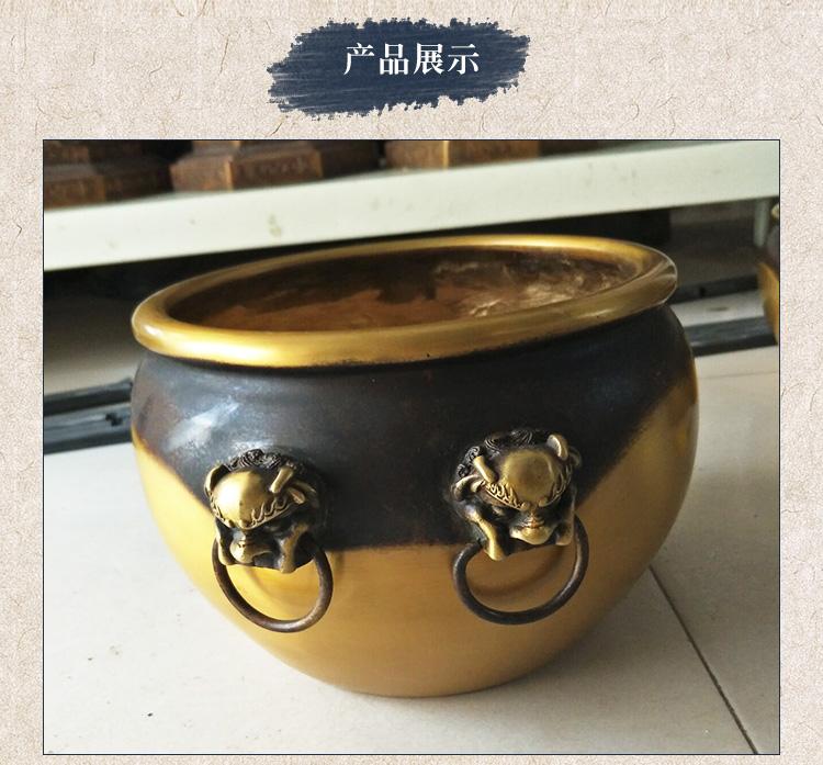 纯铜缸 大铜缸 纯铜缸厂家 小铜缸生产厂家 大型铸铜缸雕塑 铜缸摆件 黄铜缸定做 铸造铜缸厂家 风水铜雕缸定制 铜缸批