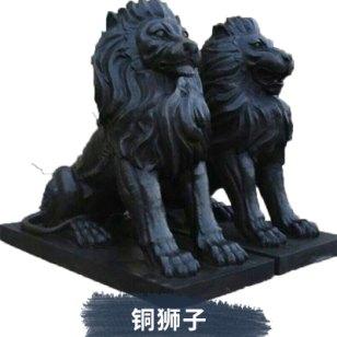 铜狮子定制图片