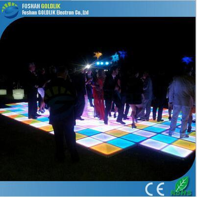 感应地砖灯地砖灯园广场亮化地砖互动彩虹地砖led地砖灯