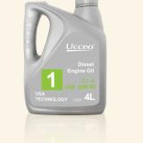 美国原装进口 优驰润滑油 1号柴油机油 CI-4 20W-50 4L