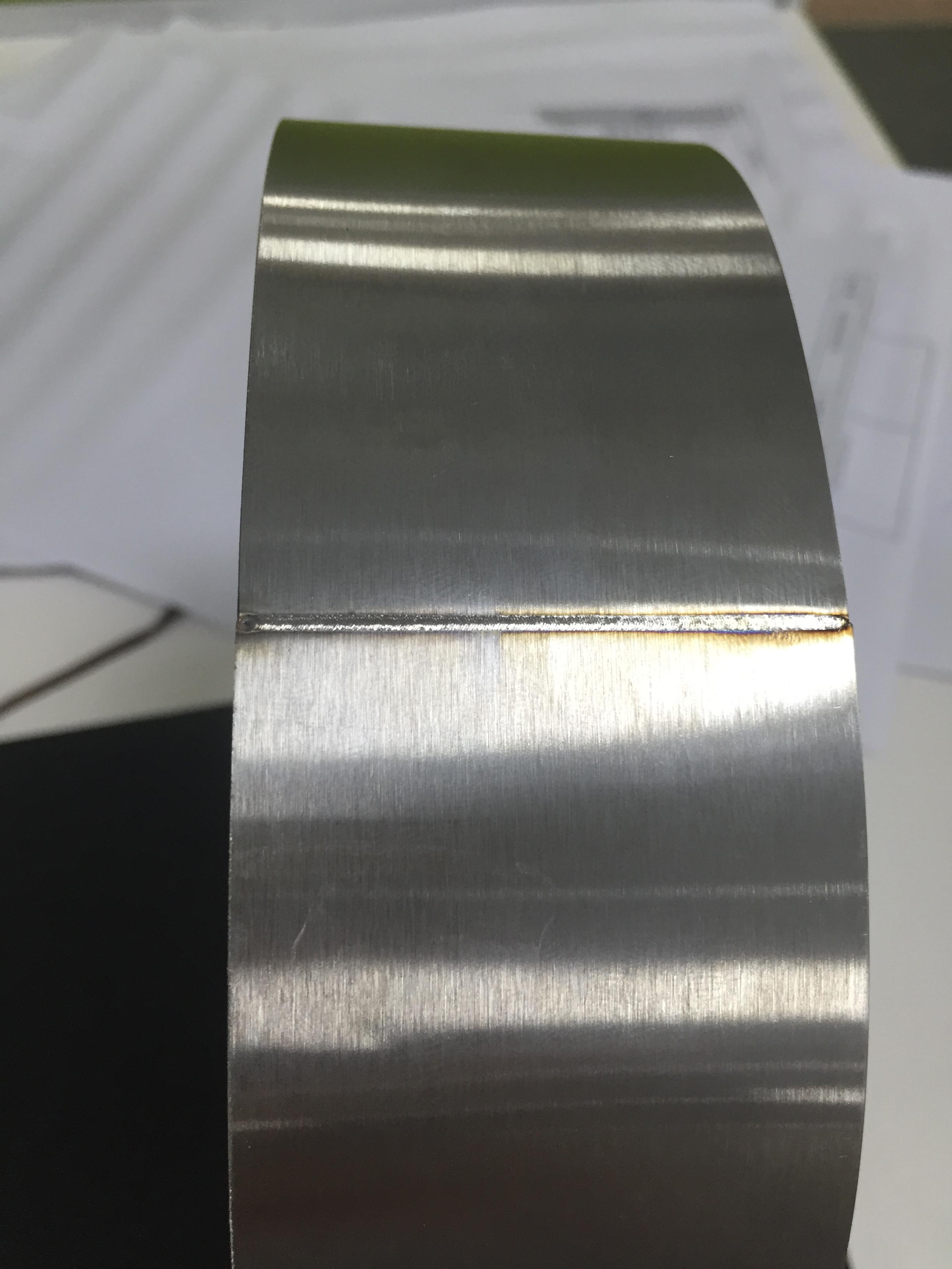 不锈钢薄片直缝焊接机直自动焊接机