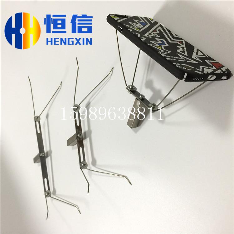 手机壳涂装钢丝夹具喷漆弹簧线喷油夹具治具不同规格A028