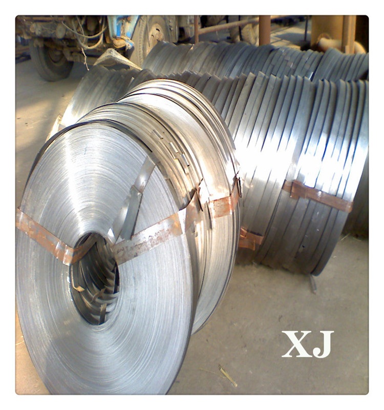 镀锌卷料具体规格可分条0.5*20钢带铁皮卷