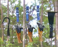 供应松脂刀/刮皮刀/刮槽刀/磨刀石/松脂袋/松脂杯组合工具 采脂刀