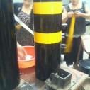 加厚钢管警示柱加油站防撞柱钢图片