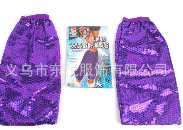 【时尚袜套】供应可爱女款亮片袜套 舞台表演亮片袜套 潮流袜套