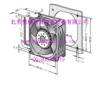 火热现货供应德国ebmpapst直流3218JH3-194 48V散热风扇
