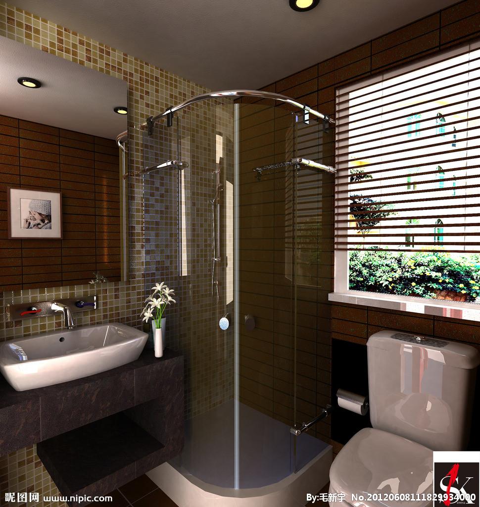 隔断卫生间装修设计 卫生间装修哪家好 卫生间装修设计公司