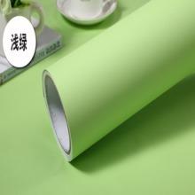 素色加厚家具贴纸防水波音软片自粘墙纸 PVC素色软片