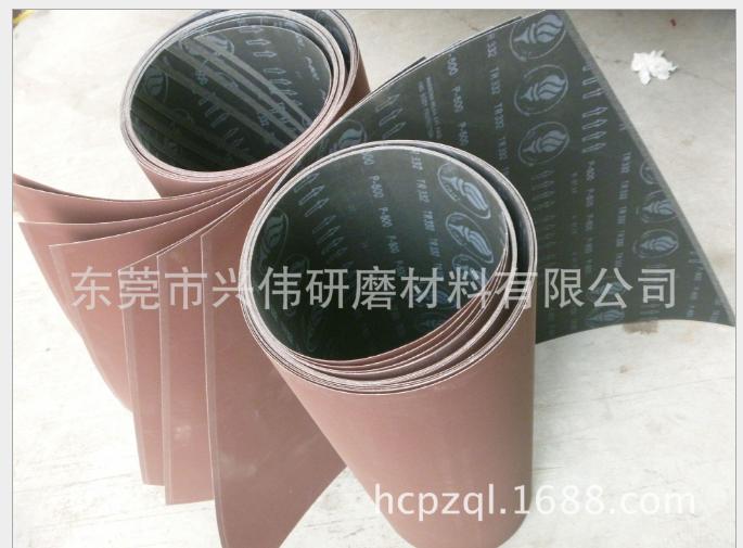 生产进口1000#火炬TR332电子线路板砂带 PCB氧化铝覆铜板抛光带