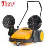 无锡手推式扫地机厂家 树叶粉尘清扫用无动力扫地车