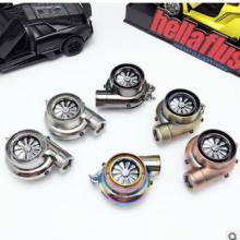 汽车改装LED涡轮打火机钥匙扣 创意USB充电点烟器钥匙圈挂件批批发
