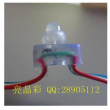UCS1903方形全彩LED灯串外露灯冲孔字广告亮化灯屏幕墙灯轮廓LED图片