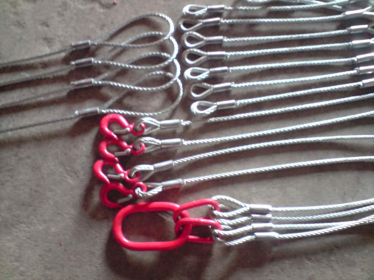 铁链吊具 钢丝绳吊索具