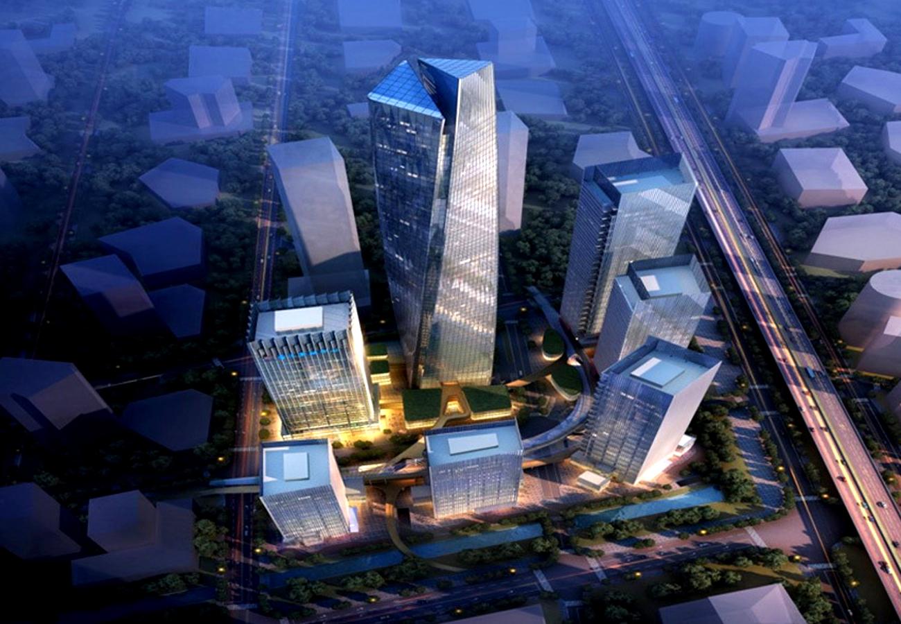 超高层钢结构制作加工,钢结构工厂加工安装 高层建筑用钢结构