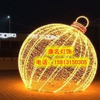 优质LED圆球造型灯 铁架圆球灯串 LED高品质图案灯