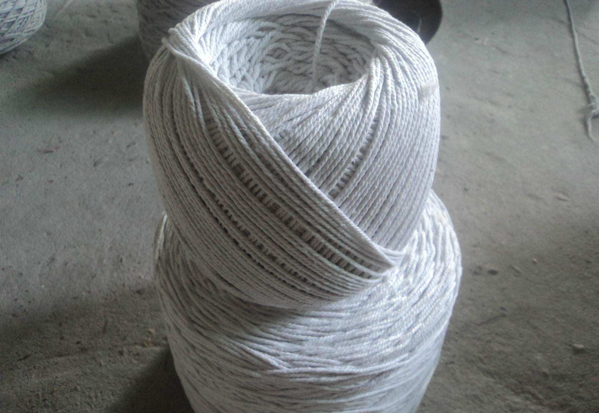 厂家直销本白色4mm嵌绳包边绳 包芯棉绳 服装沙发滚边绳  量大从优 本白色嵌绳包边绳
