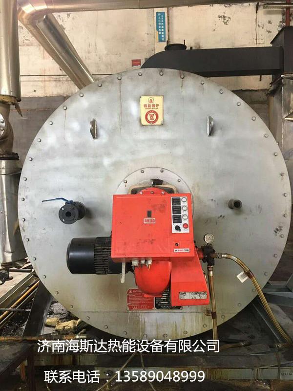 出售2015年无锡锡能240万4吨导热油锅炉