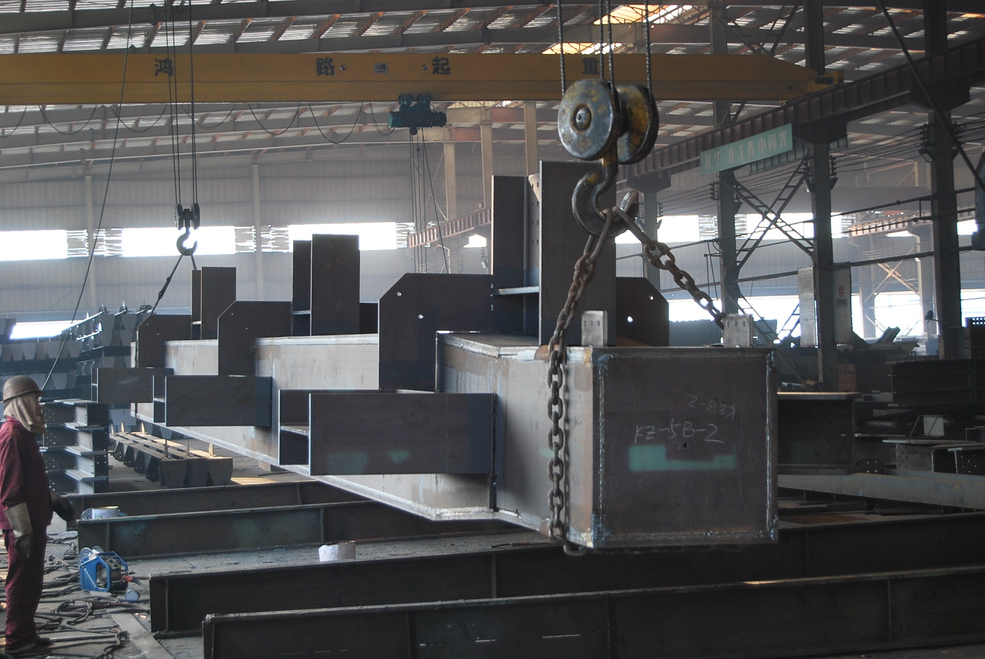 装配式建筑及智能停车设备研发制造基地,面积达200多万平方米,形成钢