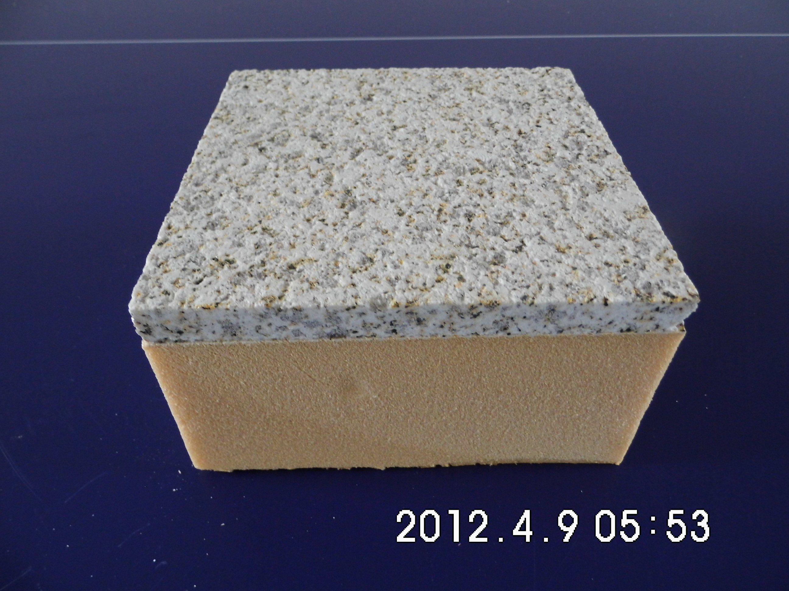 新疆红(光面)花岗岩保温一体化(