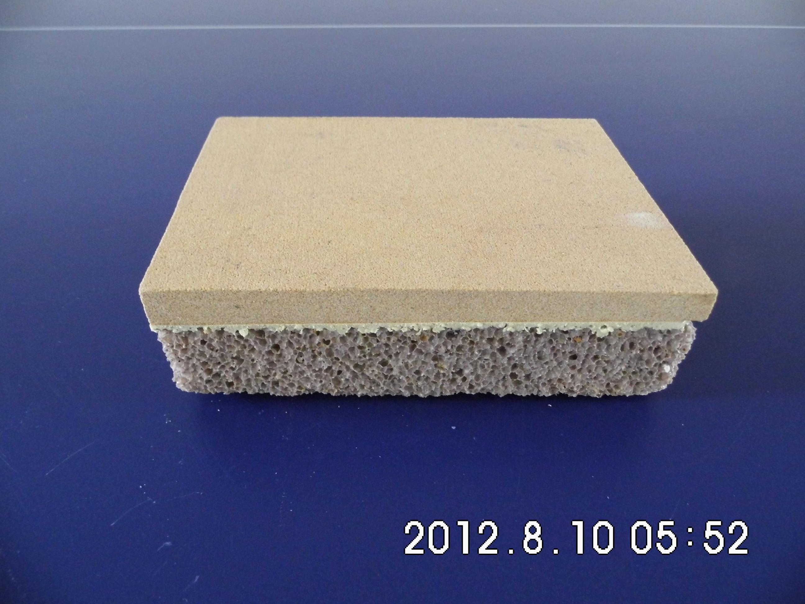 黄沙岩大理石节能保温装饰一体板