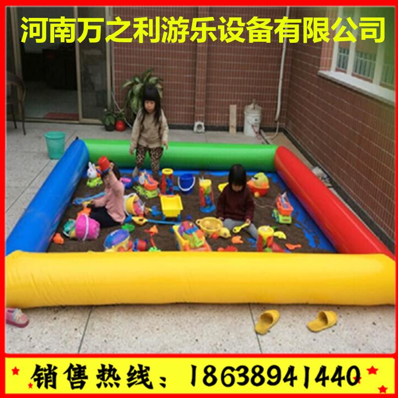 山东济南,儿童充气沙滩池销售