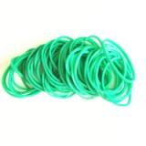 厂家批发定做合成橡胶高级环保玩具 绿色橡皮筋