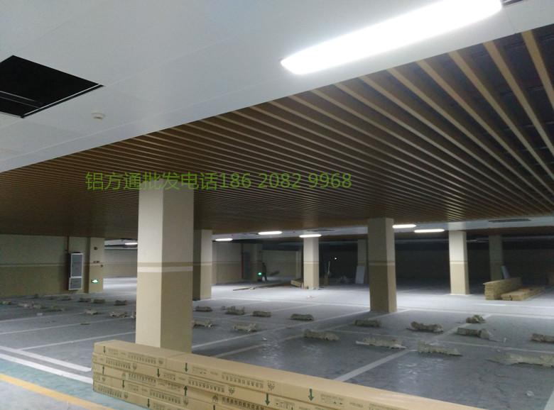 南阳铝方通定制吊顶&造型铝方通吊顶价格&铝方通生产厂家