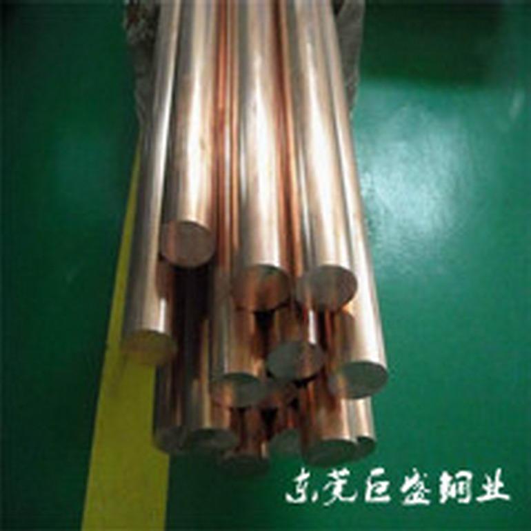 供应5.0磷铜棒 高韧性耐腐蚀c5191磷铜合金棒材