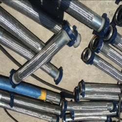 法蘭金屬軟管@不鏽鋼金屬波紋管法蘭連接生産廠家