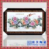 手绘高档瓷板画  手绘高档瓷板画 清明上河图瓷板画