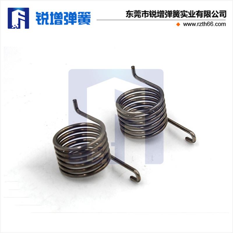 [厂家定制] 计算器扭力弹簧|不锈钢双耳扭簧生产厂家|扭簧价格是多少?
